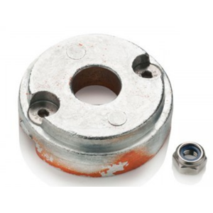 Replacement zinc anode for bow thruster 35 / 45 / 55 kgf