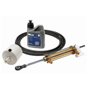 Hydraulic steering kit including cylinder (MTC30), pump (HTP
