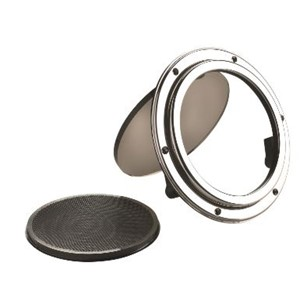 Porthole type PQ51, stainless steel 316, incl. mosquito scre