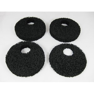 Spare filter element for large no-smell filters