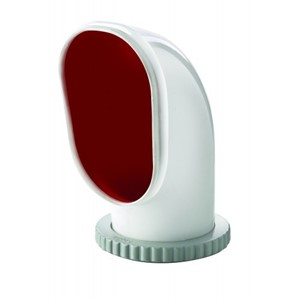 Cowl ventilator type Samoen, silicone with red interior,Ø125